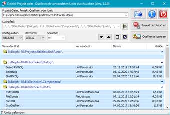 Beim programmieren von delphi projekten verwendet man viele funktionen